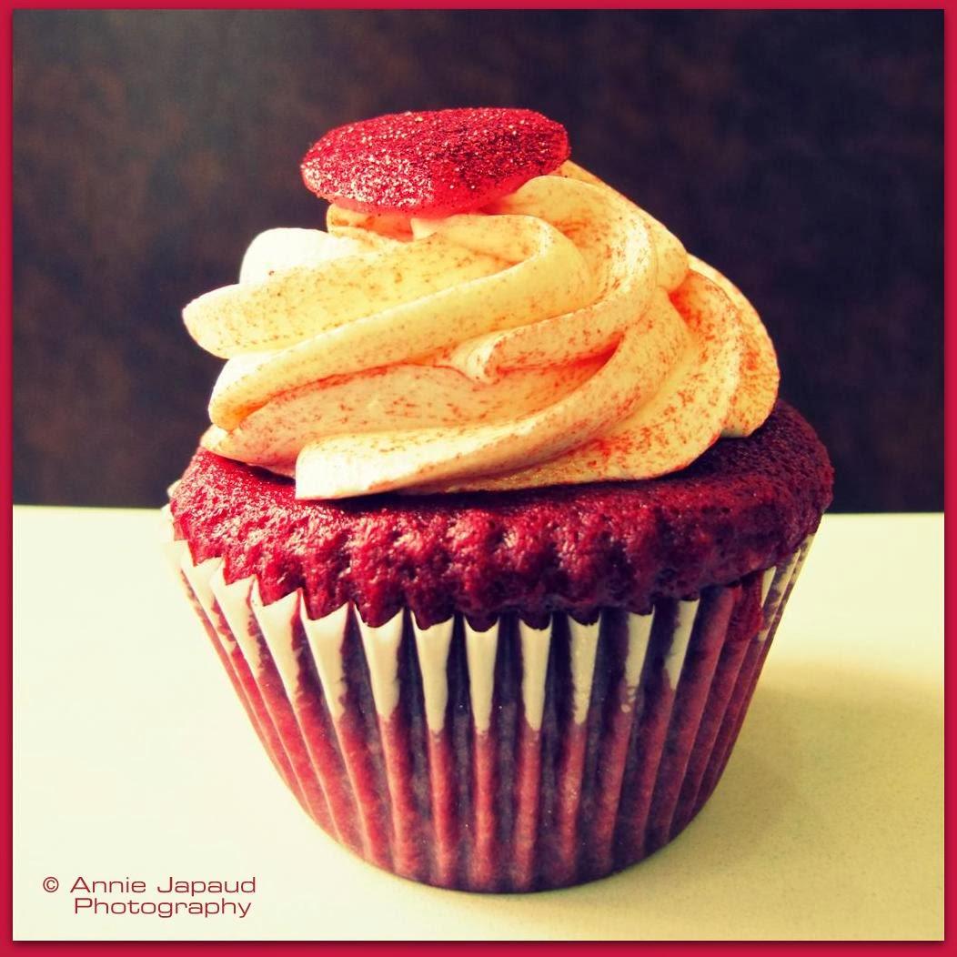 red velvet cupcake image