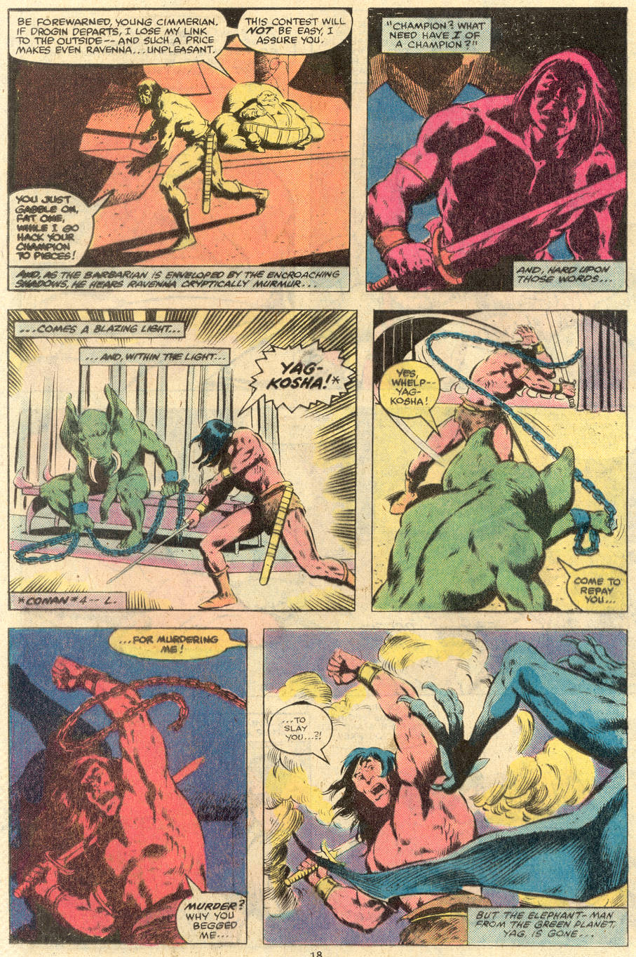 Conan the Barbarian (1970) Issue #119 #131 - English 15