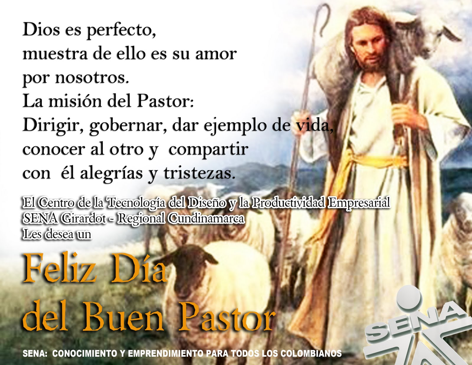 Feliz DIA Del Pastor