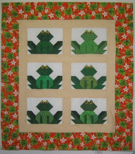 Frog Quilt: Mrs Sew And Sew's Quilting Blog
