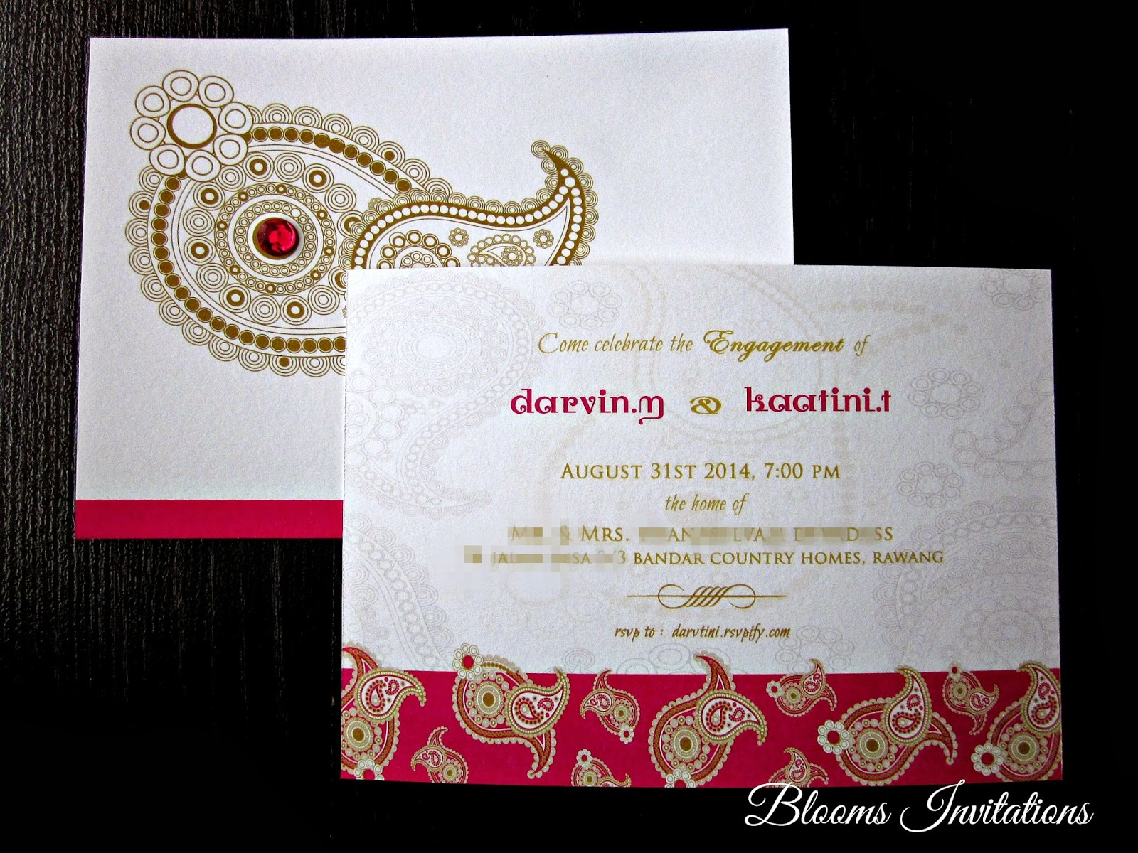 Pocket Wedding Invitation is good invitation sample