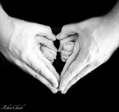 family hands prayer tenderness
