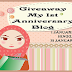 GIVEAWAY MY 1ST ANNIVERSARY BLOG
