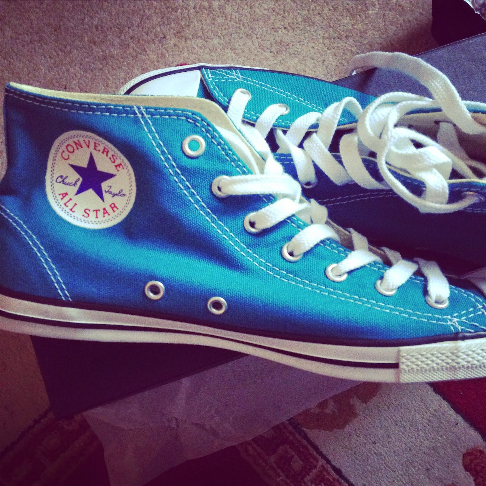 Converse Mid-tops Teal