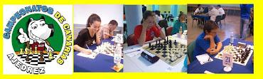 Irene, Daniel y Elisabeth en el Campeonato de Canarias