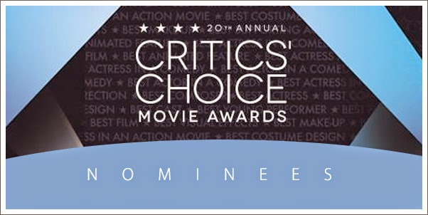 2014 Critics Choice Nominees For Best Original Score