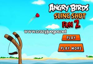 Jugar Angry Birds Slingshot Fun 2