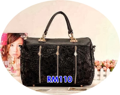 ELEGANT FASHION STYLE LACE BAG 2 WARNA PILIHAN