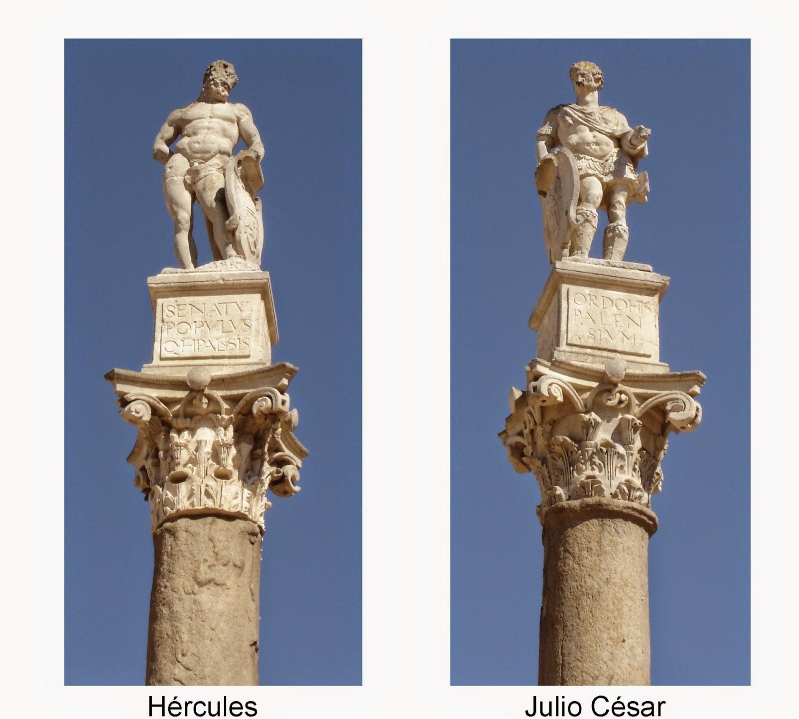 Columnas romanas en Alameda de Hércules - Sevilla