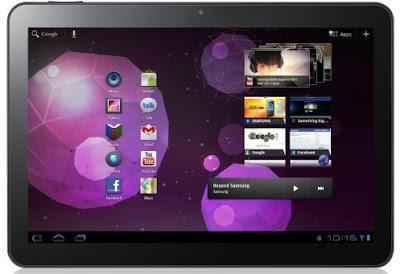 Samsung Galaxy Tab Mini Apps