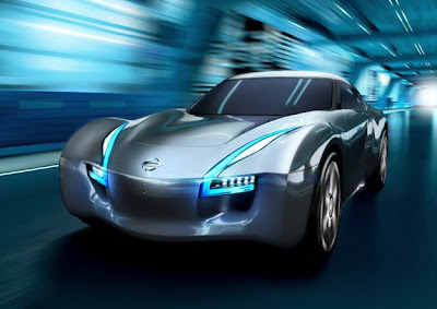 With a zero-to-60 mph time of around 4 seconds, Nissan's Esflow concept explores the fun side of going green.