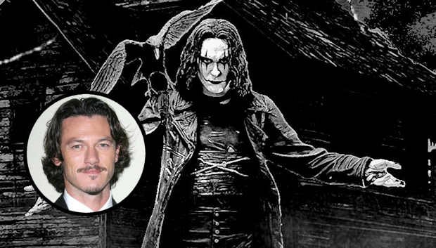 Luke Evans Officially Drops Out of 'The Crow' Reboot