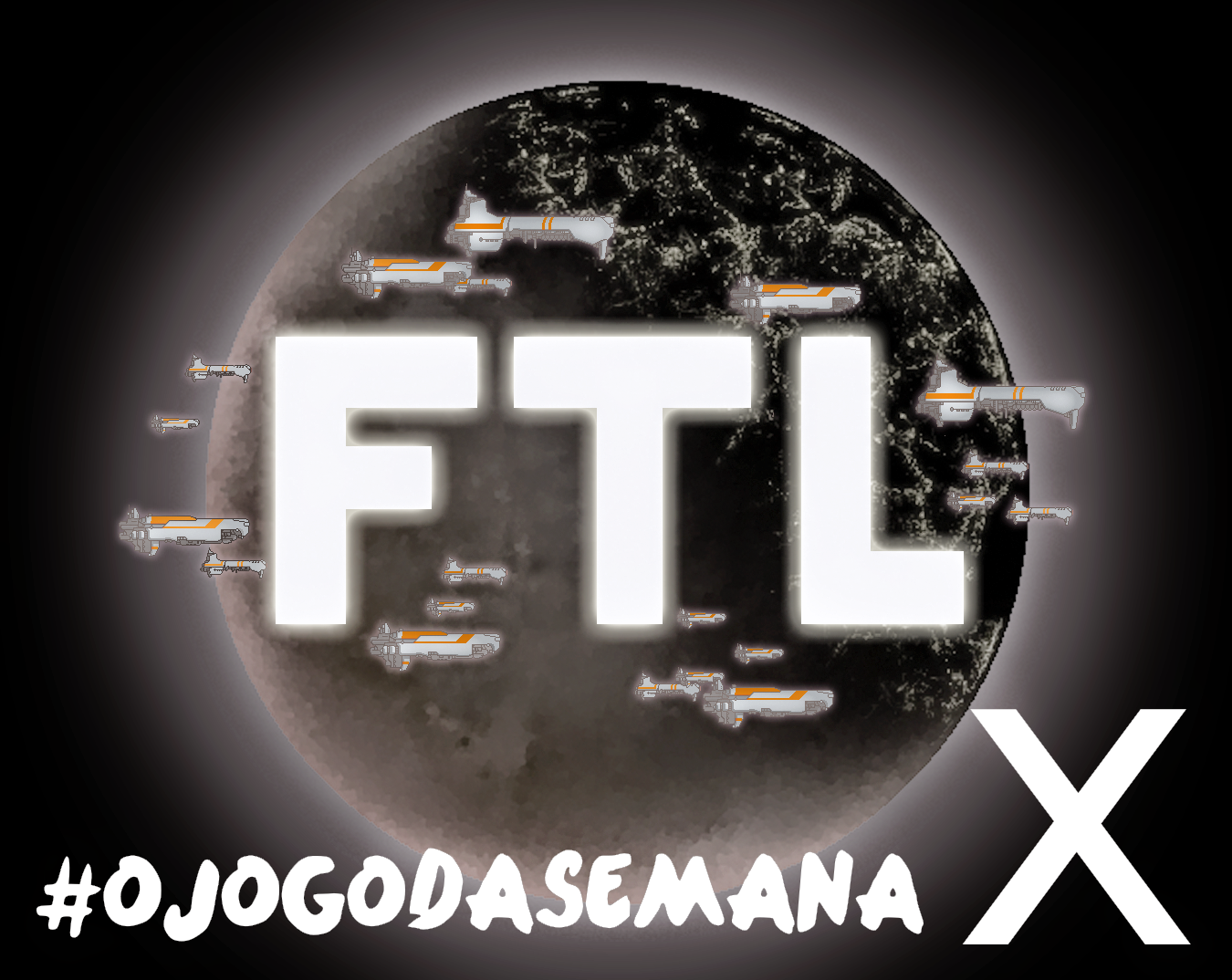 #ojogodasemana 10 é o FTL: Fast Then Light