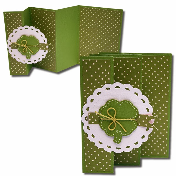 bits of paper st patrick s day cards and tags