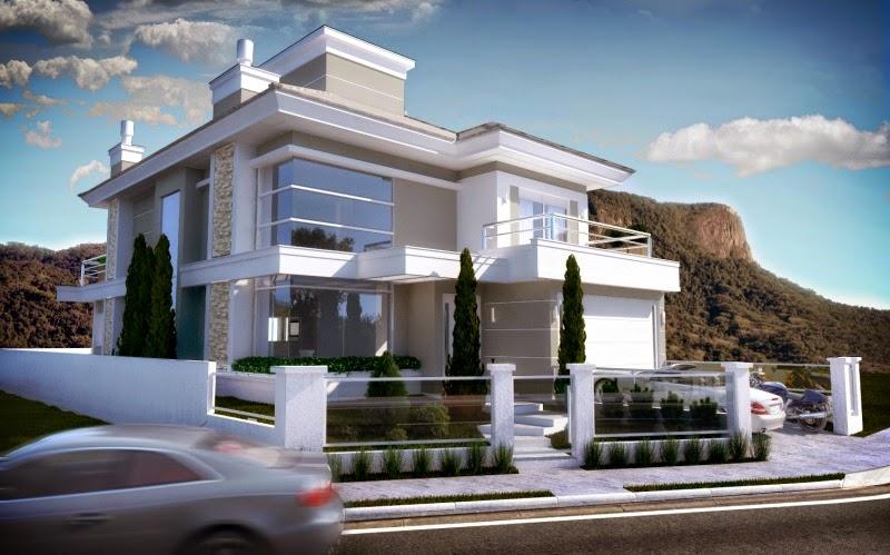 Casas em estilo neocl ssico blog jba im veis Casa clasica moderna