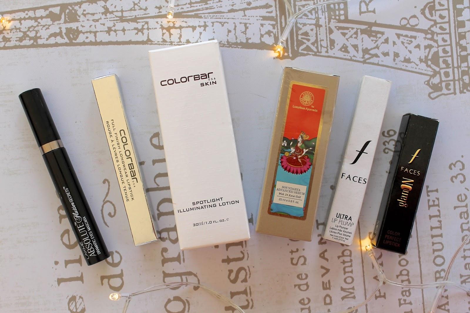 makeup beauty haul india blog