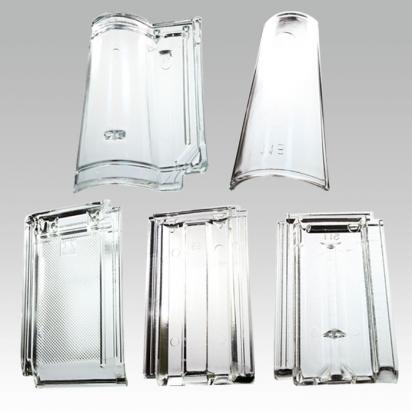 Glasziegel und mehr original glasziegel for Tetto in vetro prezzi