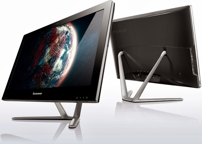 демонстрация моноблока Lenovo IdeaCentre C540 Touch