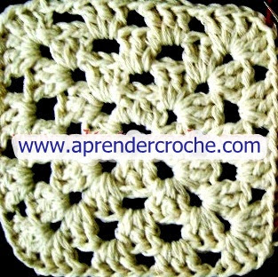aprender croche com square ou quadrados de croche video-aulas gratis edinir-croche