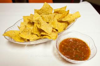 Tortilla Chips and Mild Salsa