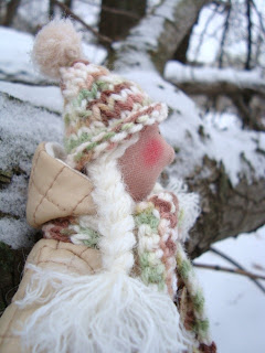 Снежана в лесу