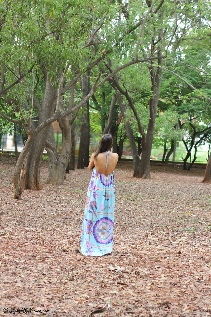 Tropical print, MAxi Dress, Beaded Flats, Colorful Maxi, Affordable Sandals, Photoshoot