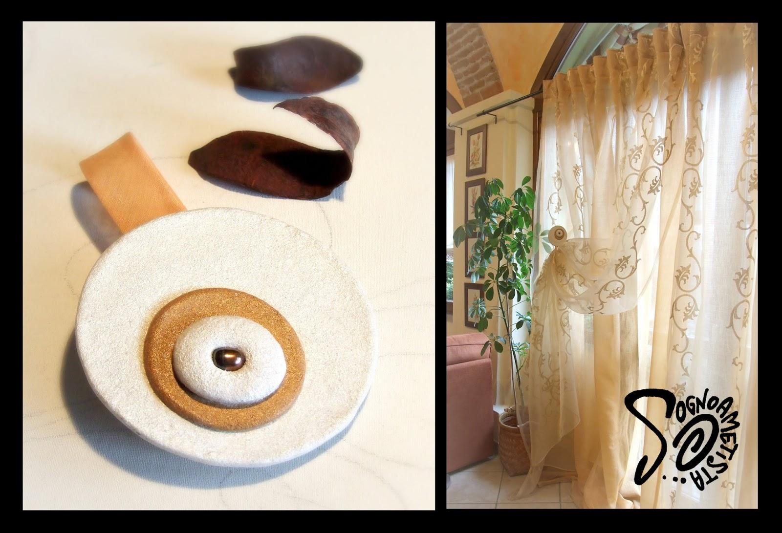 Sognoametista: Gioielli per le tende: idee per raccoglierle e creare un'atmosfera unica!