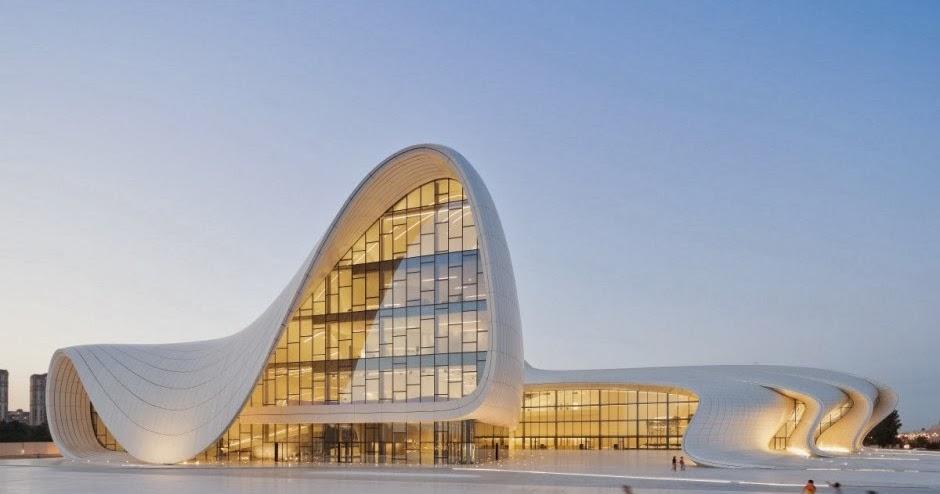 Centro heydar aliyev zaha hadid architects blog for Arquitectura zaha hadid