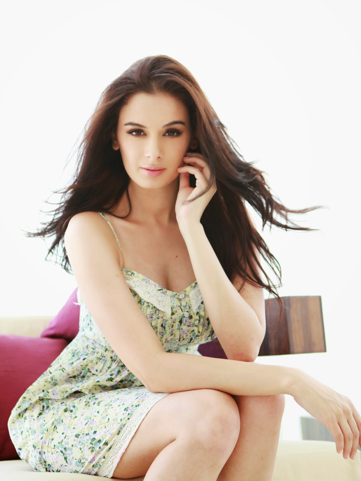 nude Wallpaper of Evelyn Sharma In Bikini