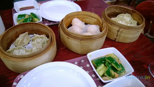 Dim Sum for lunch at Natural Flavour Tea House
