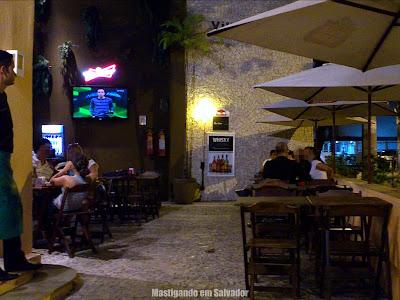 Villa do Bem: Ambiente externo
