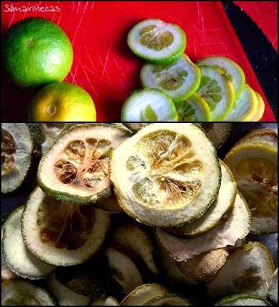 cómo secar mandarinas en microondas