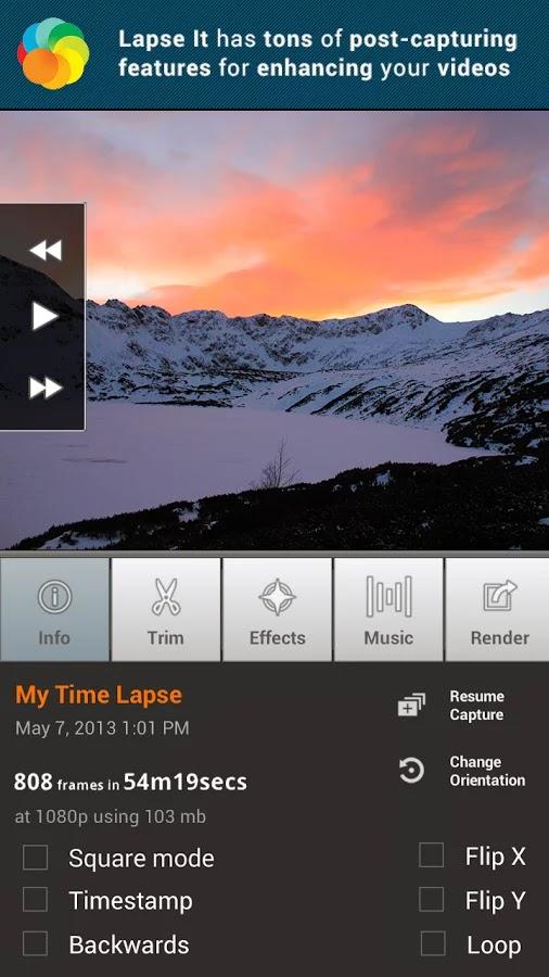Lapse It • Time Lapse • Pro v4.50
