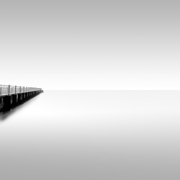 pier,Kevin Saint Grey, photograph,photo,black and white, art