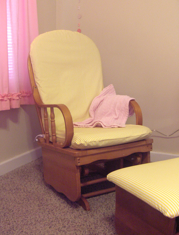 Yay, I Made It!: Rocking Chair Cover