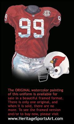 1998 Arizona Cardinals uniform