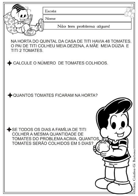 Atividade Problemas / A Horta