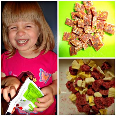 Fruit & Veggie Crispy Chews, Fruity Yogurt Bites