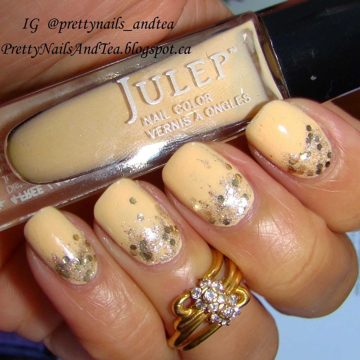 sally yellow gradient julep