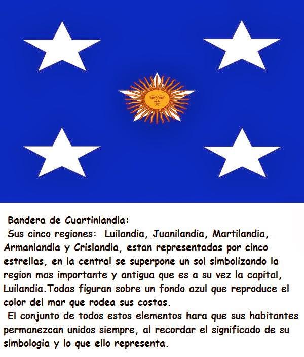 Bandera de Cuartinlandia