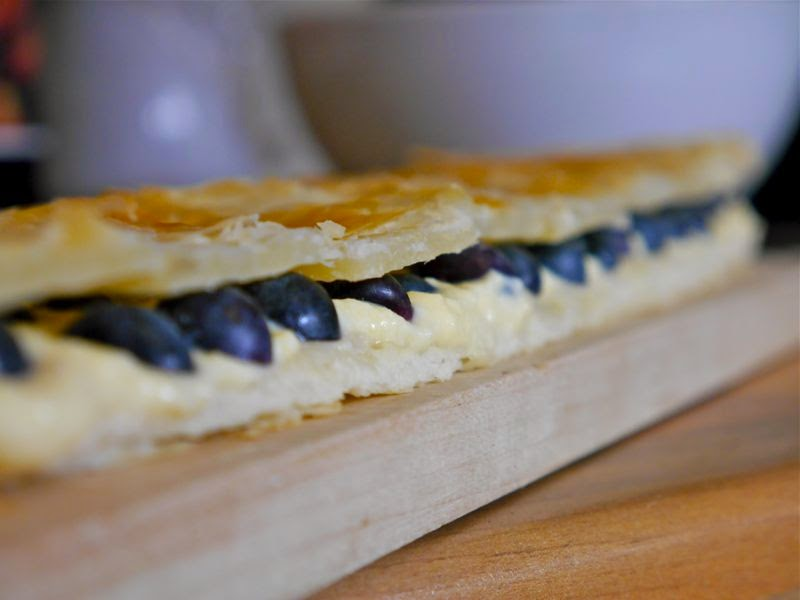 Blueberries and Creme Patisserie