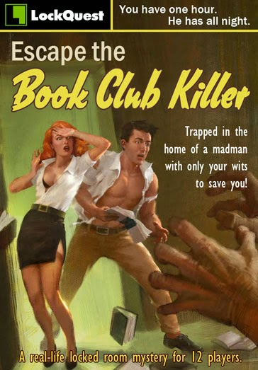 LockQuest Escape the Book Club Killer escape game