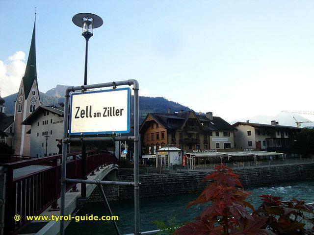 Zell am Ziller Austria  city photos gallery : ... Salzburg, Baden Württemberg and Poland: Zell am Ziller in Unterland