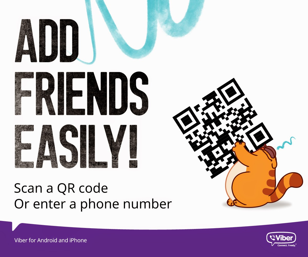Viber adds QR code support