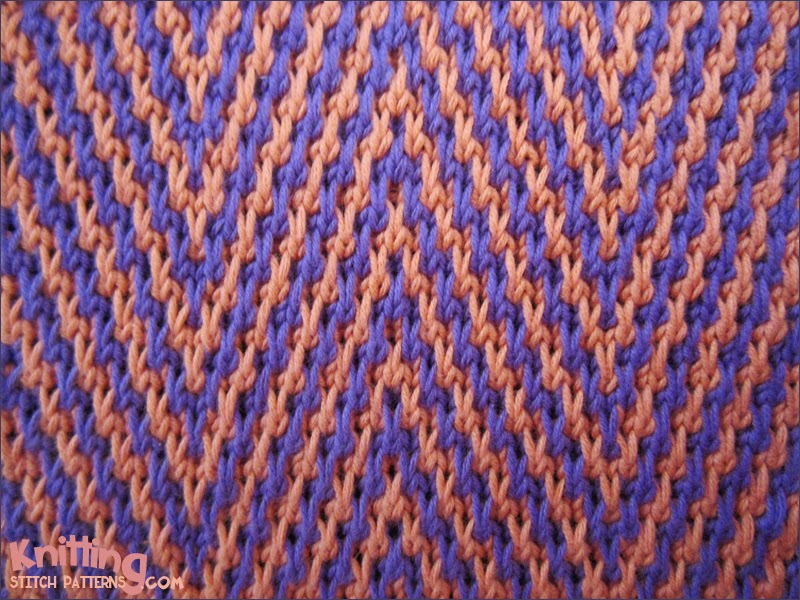 Knitting With Two Colors Continental : Knitting stitch patterns