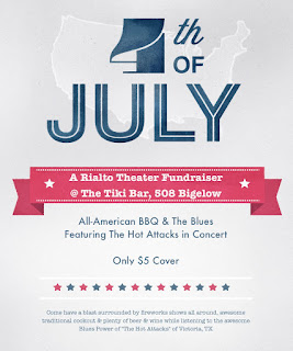 4th of July at The Rialto Theater's Blues & BBQ