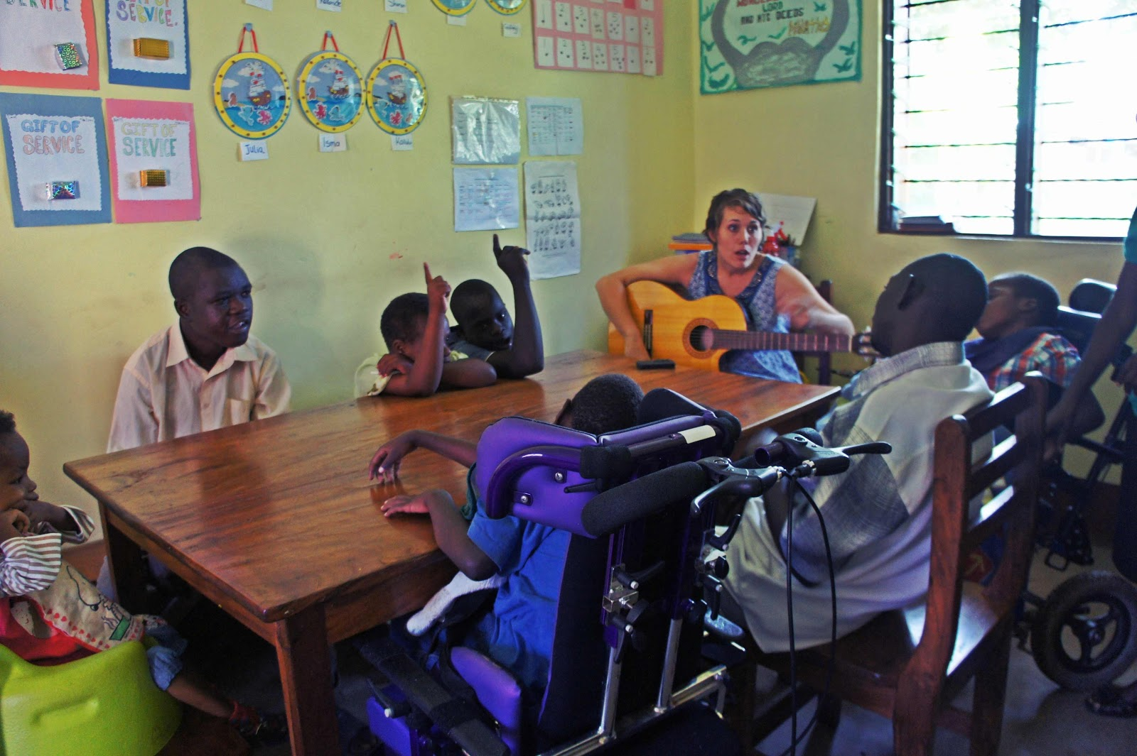 Classroom Design For Special Needs : Gone to uganda take the last few weeks