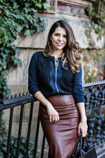 16 Best and Elegant Leather Skirt for Women Trends 2017-2018