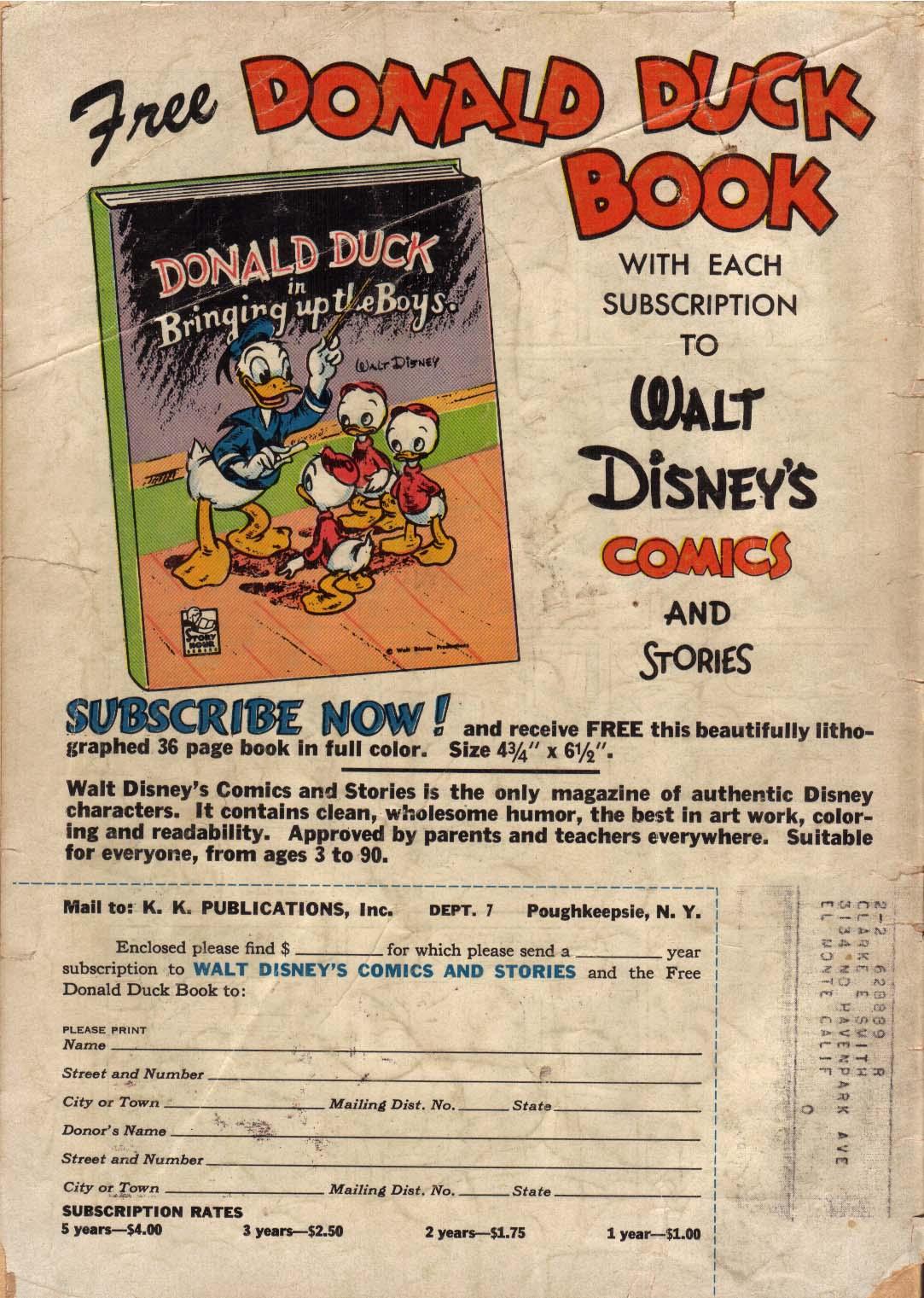 Walt Disneys Comics and Stories 130 Page 52