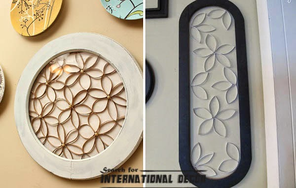 Creative recycle ideas, recycle ideas, wall plate,recycle art ideas